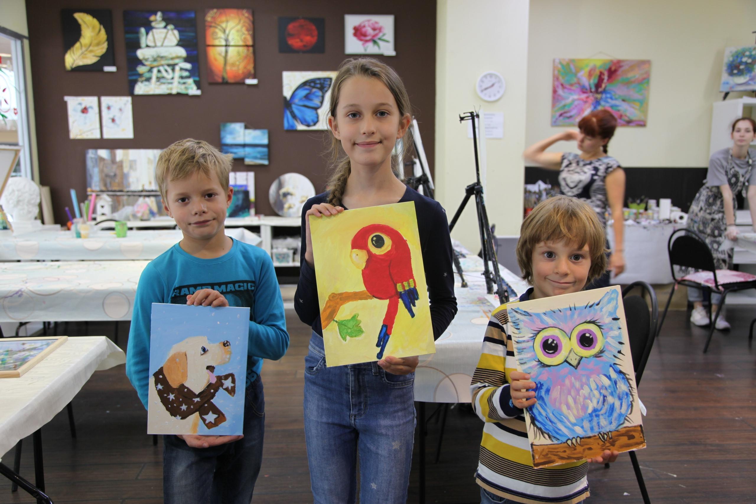Мастер-классы по живописи для взрослых и детей от 5 лет – найдем талант в каждом в ТК ЭКОПОЛИС premium