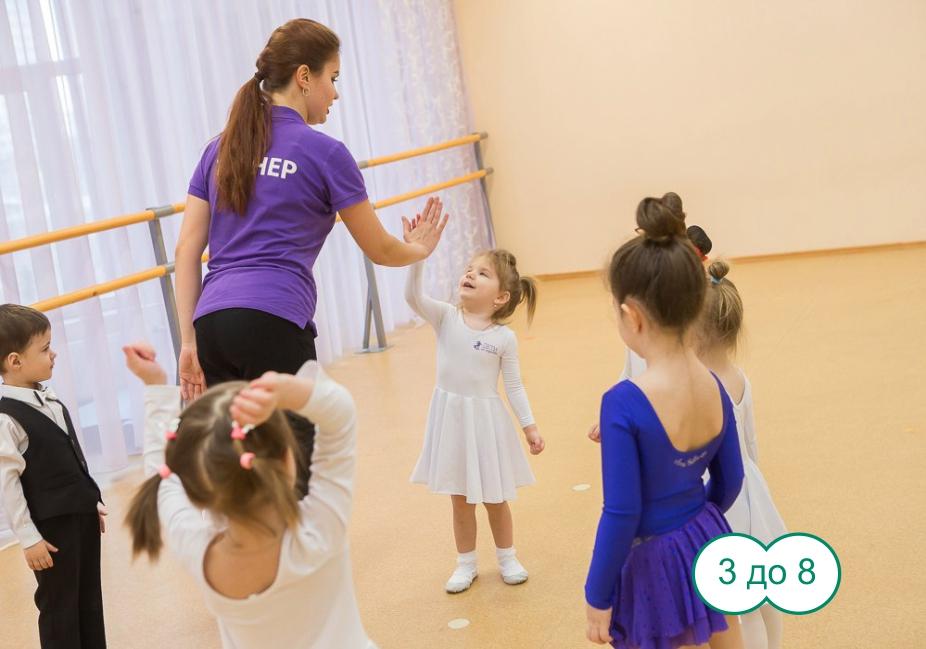 Школа танцев для детей в СПб «Дети на паркете»