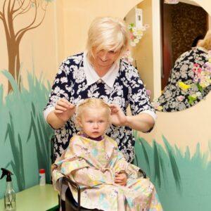 Детская парикмахерская Карусель